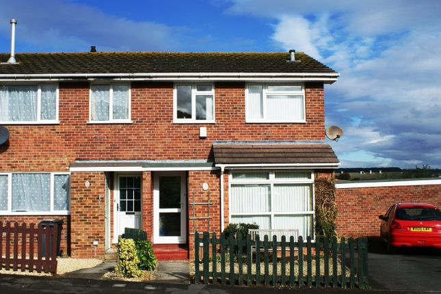 Thumbnail End terrace house to rent in North Hills Close, Weston Super Mare