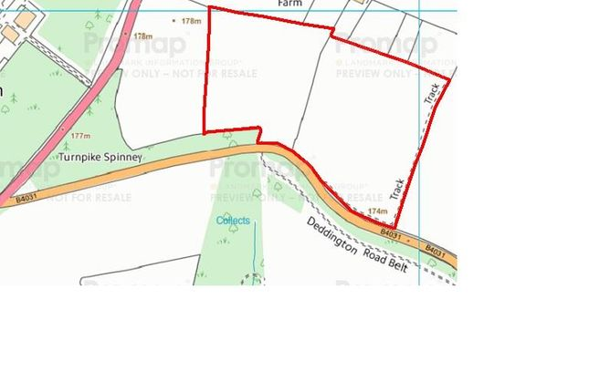 Thumbnail Land for sale in Land At Deddington Road, South Newington, Chipping Norton, Oxfordshire