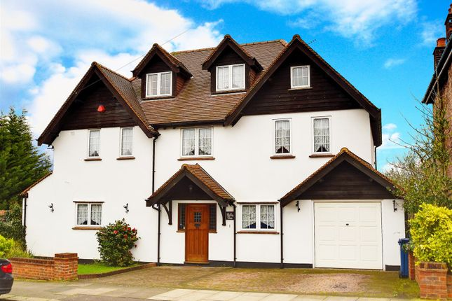 Thumbnail Detached house for sale in Alverstone Avenue, East Barnet