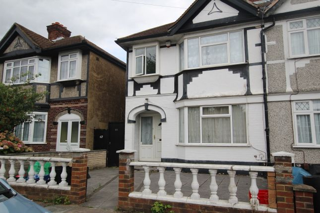 Thumbnail End terrace house to rent in Huxley Drive, Goodmayes, Romford