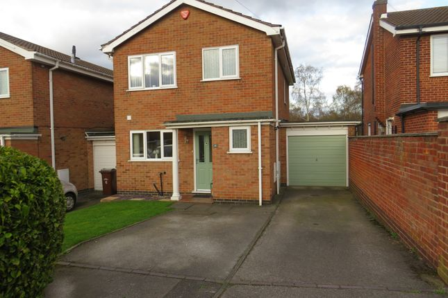 Thumbnail Link-detached house for sale in Dormy Court, Bulwell, Nottingham