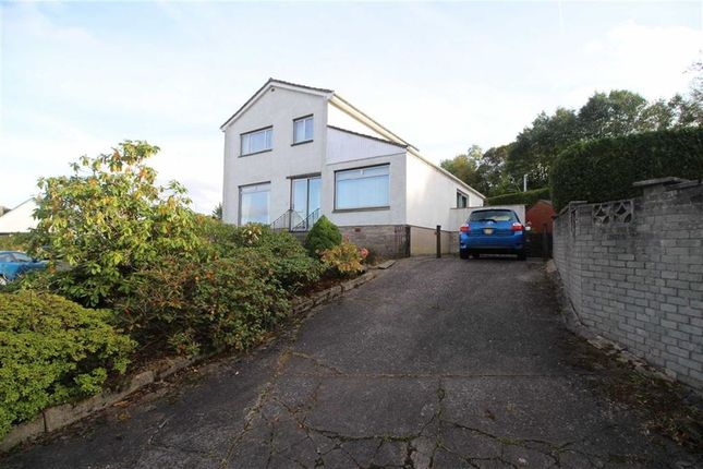 Thumbnail Detached house for sale in Station Avenue, Inverkip, Greenock
