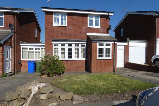 Thumbnail Link-detached house for sale in Chipchase Court, New Hartley, Tyne & Wear