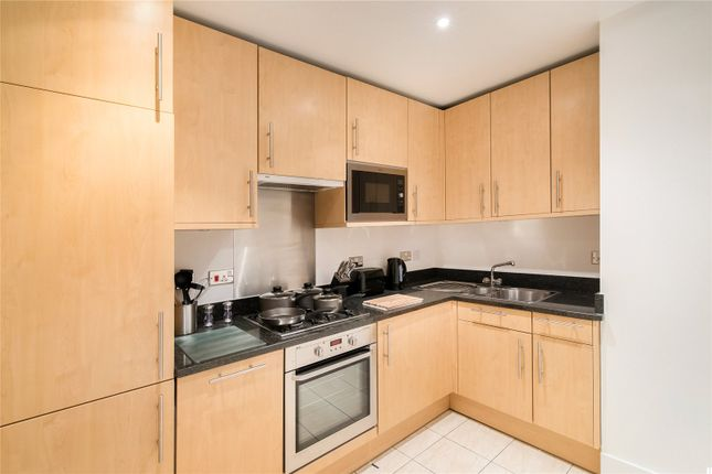 Kitchen of Artillery Mansions, Victoria Street, Westminster, London SW1H