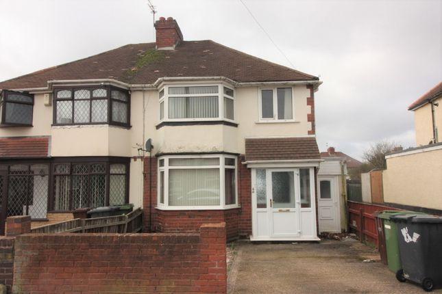 Semi-detached house in  Ridge Lane  Wednesfield  Wolverhampton W Birmingham