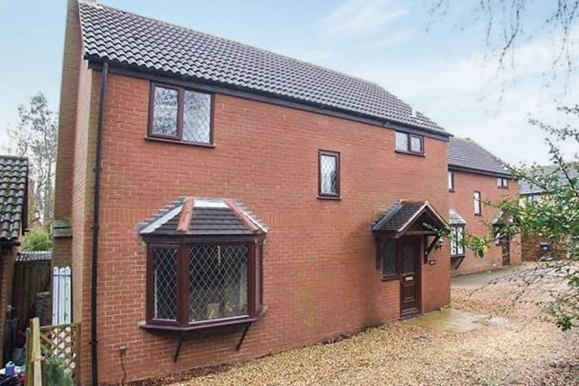 Thumbnail Detached house for sale in Cross Way, Irthlingborough, Wellingborough