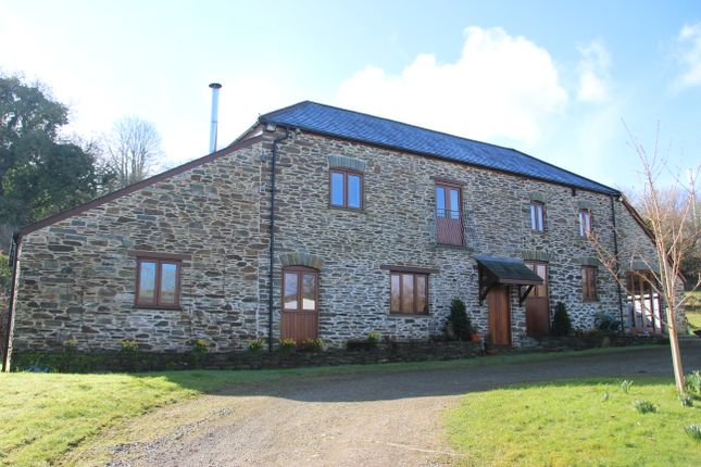 Thumbnail Barn conversion for sale in Bagg Lane, St. Germans, Saltash