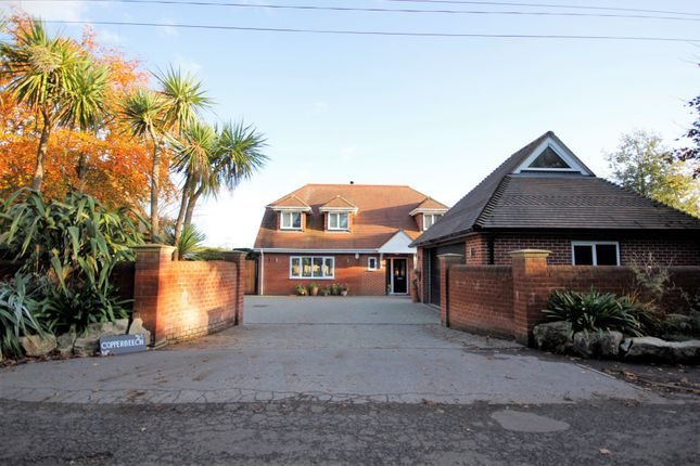 Thumbnail Detached house for sale in Lee Ground, Fareham