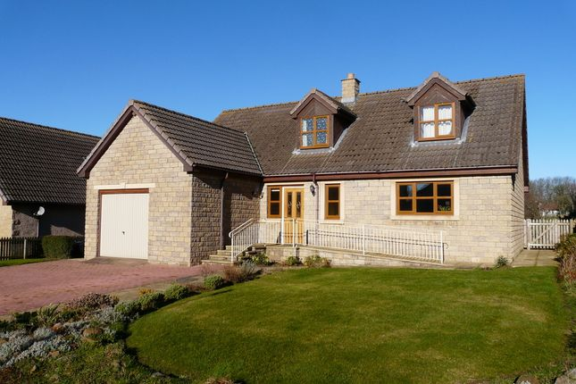 Thumbnail Detached house for sale in Cheviot Park, Foulden, Berwick Upon Tweed, Northumberland