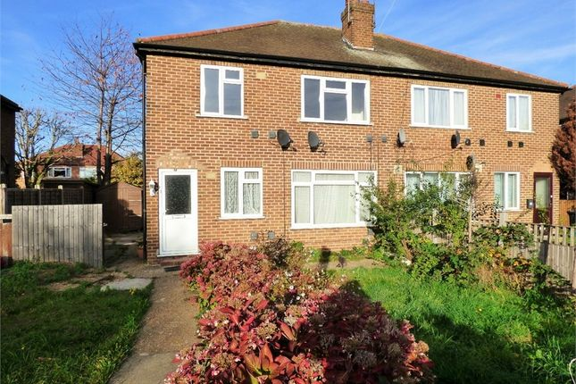 Thumbnail Maisonette to rent in Western Avenue, Perivale, Greenford, Greater London
