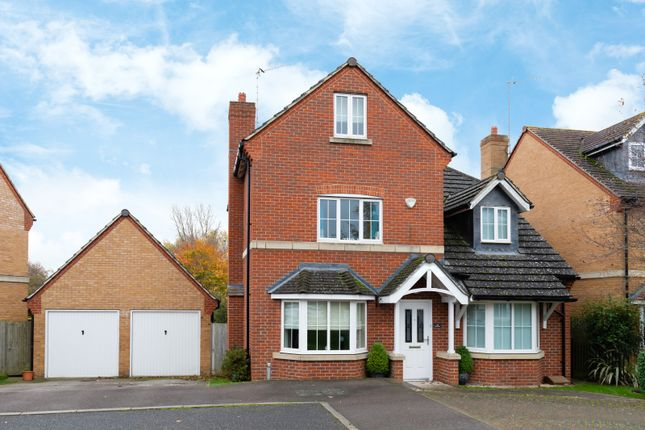 Thumbnail Detached house for sale in Tamarisk Way, Weston Turville, Aylesbury