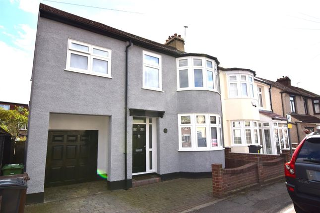 Thumbnail Semi-detached house for sale in Edward Road, Chadwell Heath, Romford