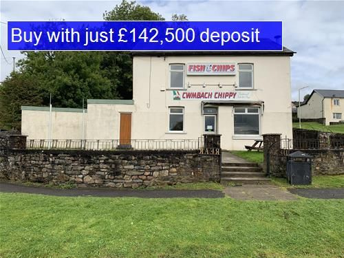 Thumbnail Leisure/hospitality for sale in Tirfounder Road, Cwmbach, Aberdare
