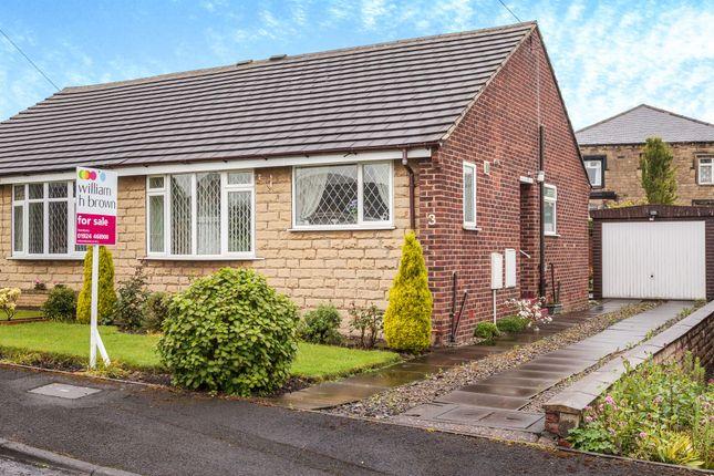 Thumbnail Semi-detached bungalow for sale in Aston Close, Roberttown, Liversedge