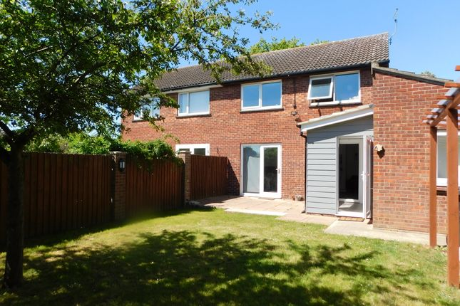 Thumbnail Semi-detached house to rent in Chase Court, Colchester