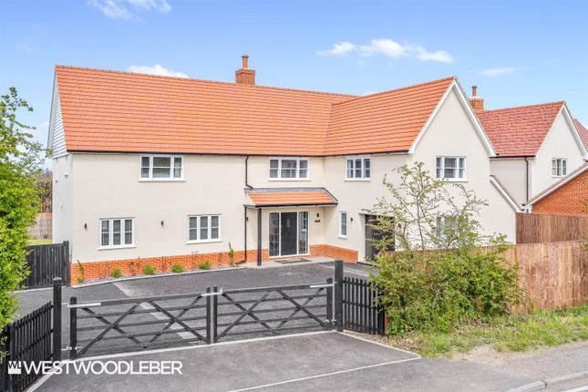 5 bed detached house for sale in Common View, Bumbles Green EN9