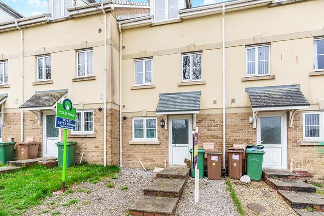 Thumbnail Terraced house to rent in Lakeside Drive, Plymouth