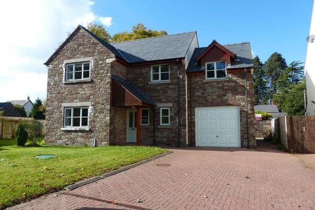 Thumbnail Detached house for sale in Captains Field, Llanfrynach, Brecon