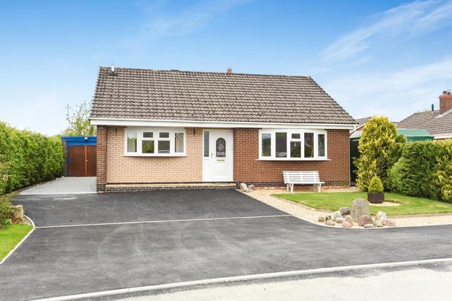 Thumbnail Detached bungalow for sale in Pentrosfa Road, Llandrindod Wells, Powys