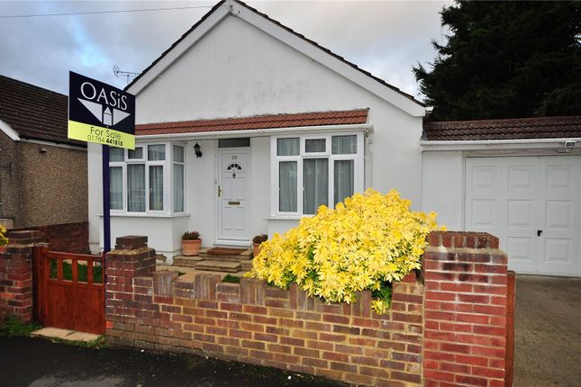 Thumbnail Detached bungalow for sale in Goring Road, Staines Upon Thames, Surrey