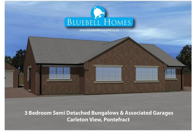Thumbnail Bungalow for sale in Carleton View, Pontefract