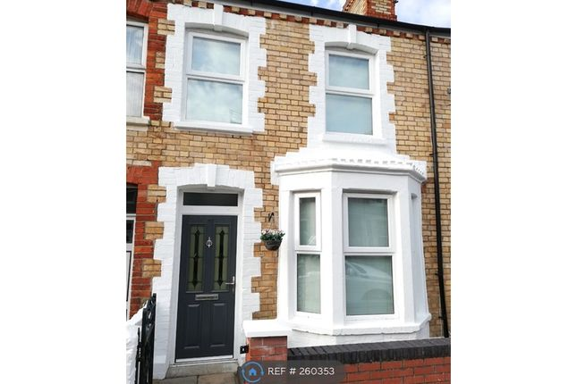 Thumbnail 2 bed terraced house to rent in Fairleigh Road, Cardiff