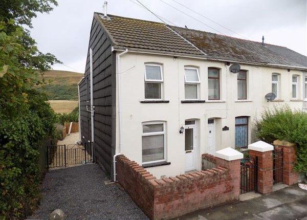 Thumbnail End terrace house for sale in Waen Marsley, Nantyglo, Ebbw Vale