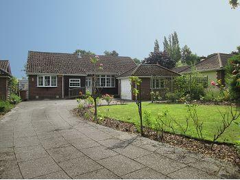 Thumbnail Detached bungalow for sale in Park Lane, Sandbach