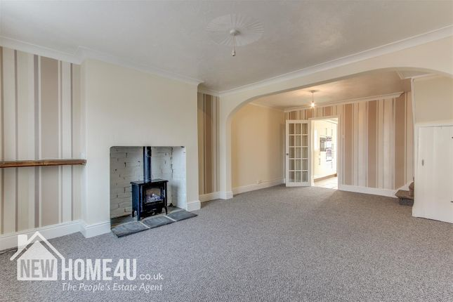 Thumbnail Terraced house for sale in Queen Street, Leeswood, Mold