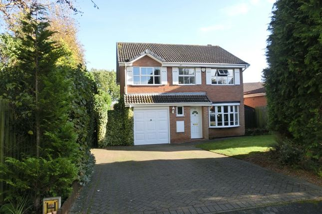 Thumbnail Detached house for sale in Lindford Way, Kings Norton, Birmingham