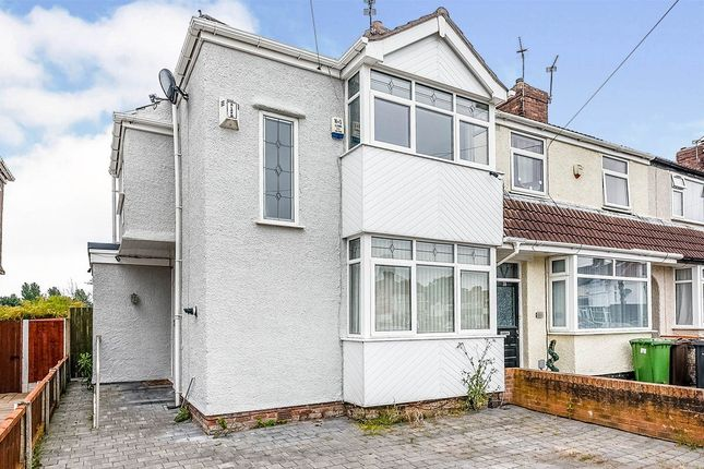 Thumbnail End terrace house to rent in Buttermere Gardens, Liverpool, Merseyside