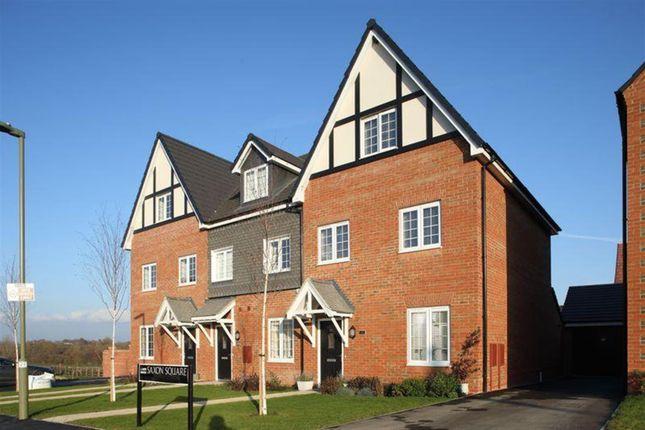 Thumbnail End terrace house for sale in Town Farm Close, Thame