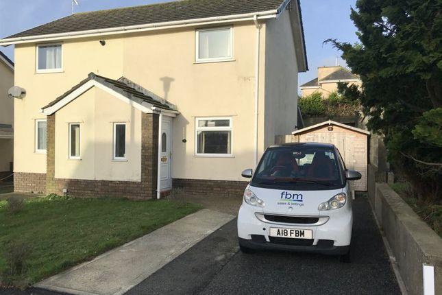 Thumbnail Semi-detached house to rent in Glenview Avenue, Pembroke Dock, Pembrokeshire