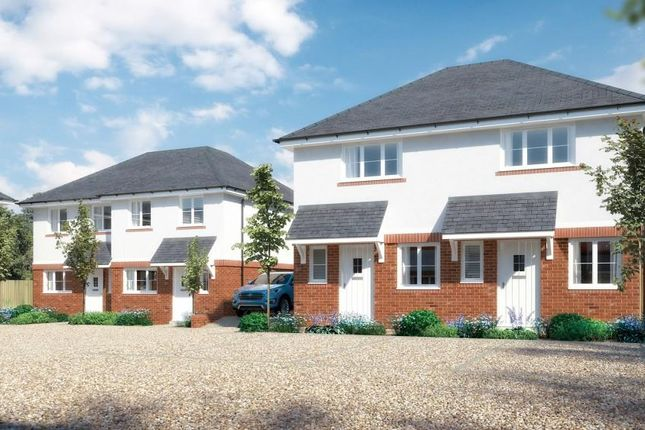 Thumbnail Semi-detached house for sale in Brand New Development, Parkview Grove, Close To Weymouth Town, Help To Buy Available