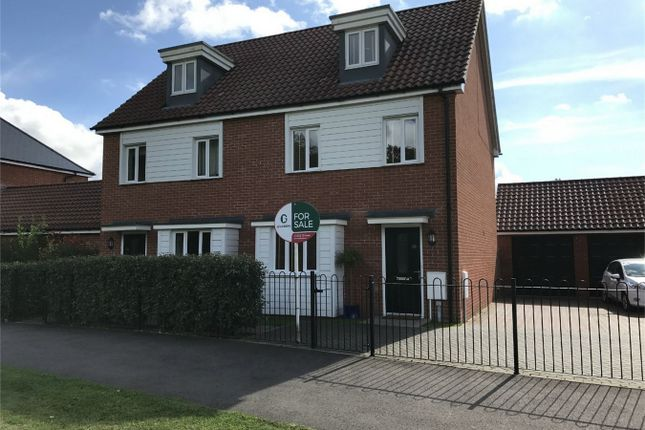 Thumbnail Semi-detached house for sale in Brentwood, Eaton, Norwich