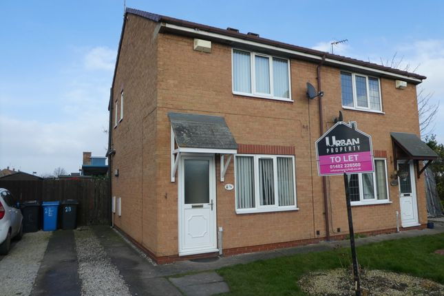 Thumbnail Semi-detached house to rent in St Margarets Court, Hull