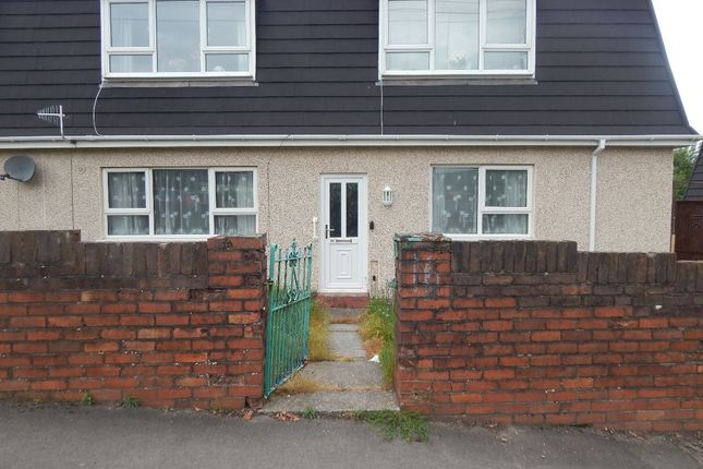 Thumbnail Flat to rent in Brynteg Terrace, Ebbw Vale