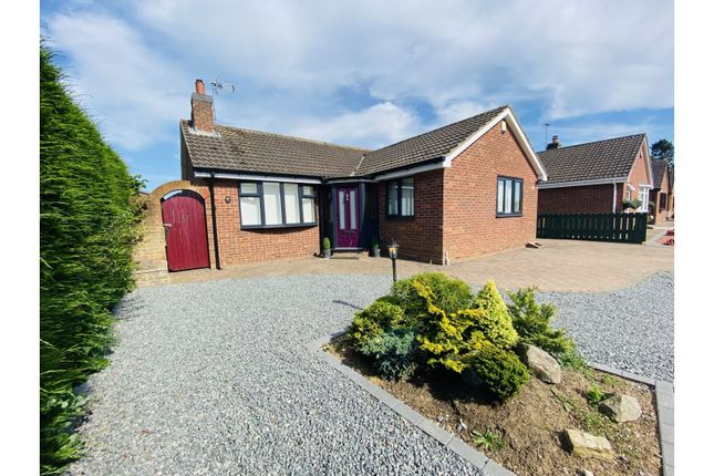 Thumbnail Detached bungalow for sale in Rise Close, Hull