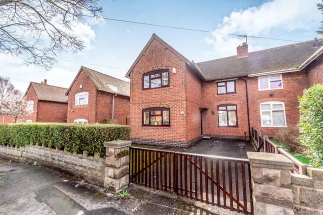 Thumbnail Semi-detached house for sale in Ida Road, Walsall