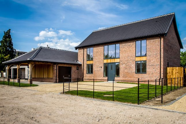 Thumbnail Detached house for sale in Ashburton Road, Ickburgh, Thetford