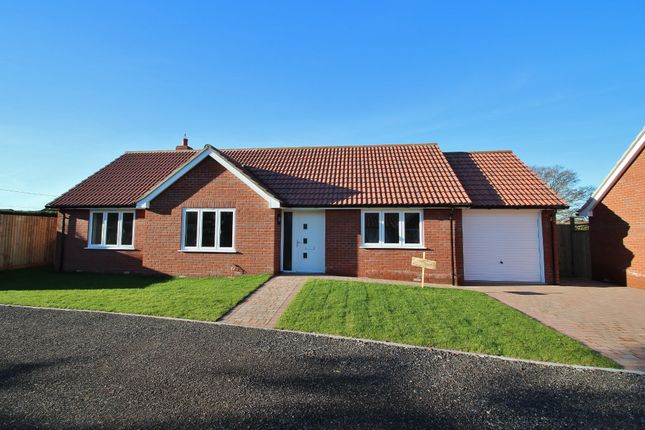 Thumbnail Detached bungalow for sale in Woolpit, Bury St Edmunds, Suffolk