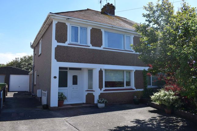 Thumbnail Semi-detached house for sale in Suffolk Place, Porthcawl