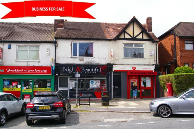 Thumbnail Retail premises for sale in Orrell Road, Bootle