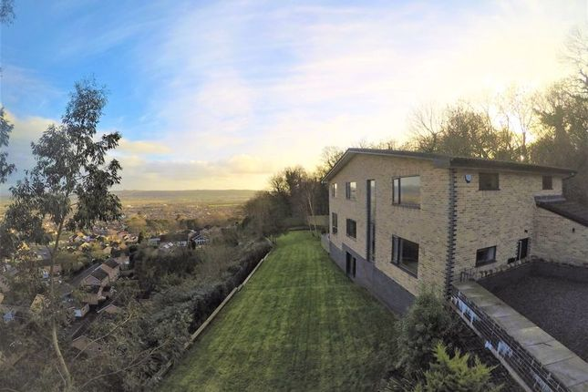 Thumbnail Detached house for sale in Worlebury Hill Road, Worlebury, Weston-Super-Mare