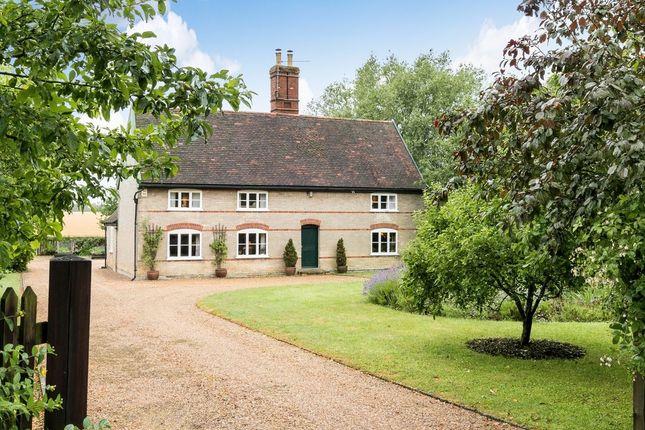 Thumbnail Farmhouse for sale in Elmswell Road, Great Ashfield, Bury St. Edmunds