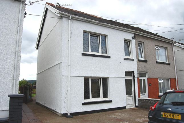 Thumbnail Semi-detached house to rent in Margaret Street, Ammanford