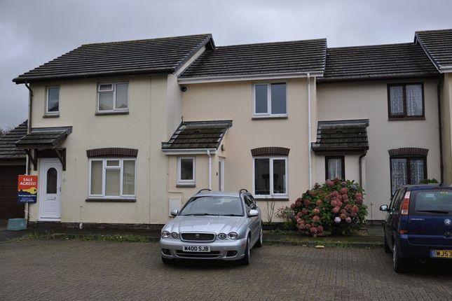 Thumbnail Terraced house to rent in Hawthorn Park, Bideford