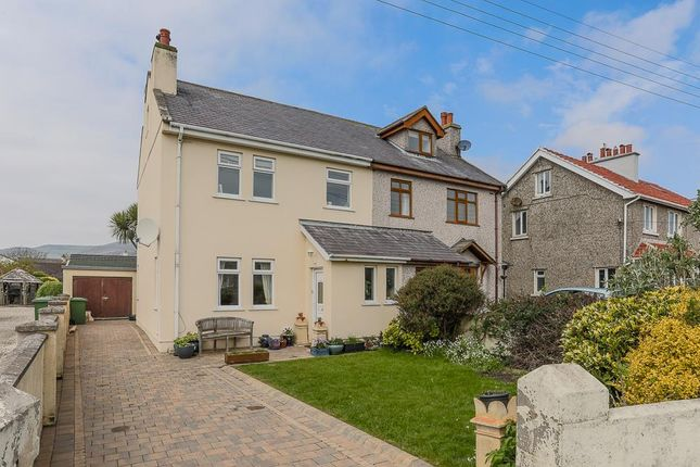 Thumbnail Semi-detached house for sale in Ballachurry Corner, Ballafesson, Port Erin