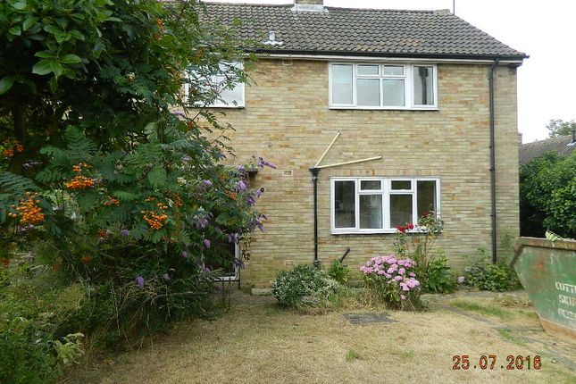 Thumbnail Semi-detached house to rent in Queens Way, Oakington
