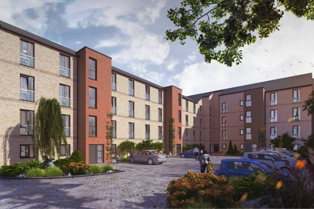 Thumbnail Flat for sale in Riverside Walk, Old Sneddon Street, Paisley, Glasgow